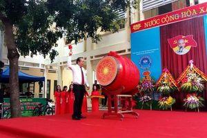 Đánh trống khai giảng năm học mới tại Thanh Hóa