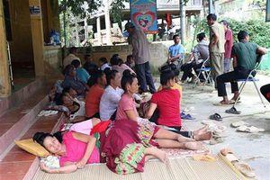Điện Biên: Hơn 100 người nghi bị ngộ độc tập thể sau khi ăn cỗ mừng nhà mới