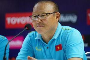 HLV Park Hang Seo nói gì khi ĐT Việt Nam hòa ĐT Thái Lan?