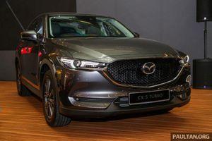 Cận cảnh Mazda CX-5 dùng động cơ tăng áp đầu tiên ở Đông Nam Á