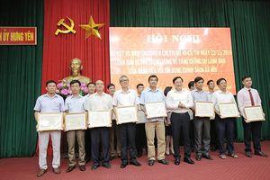 Tín dụng CS góp sức trong xây dựng nông thôn mới ở Hưng Yên