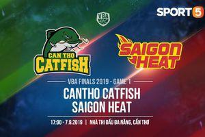 VBA Finals 2019 Game 1: 'Kẻ thách thức' Saigon Heat có vượt qua được 'Nhà vua' Cantho Catfish tại 'thánh địa' Đa Năng