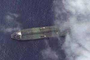 Công ty Mỹ phát hiện tàu chở dầu Adrian Darya 1 của Iran ngoài khơi Syria