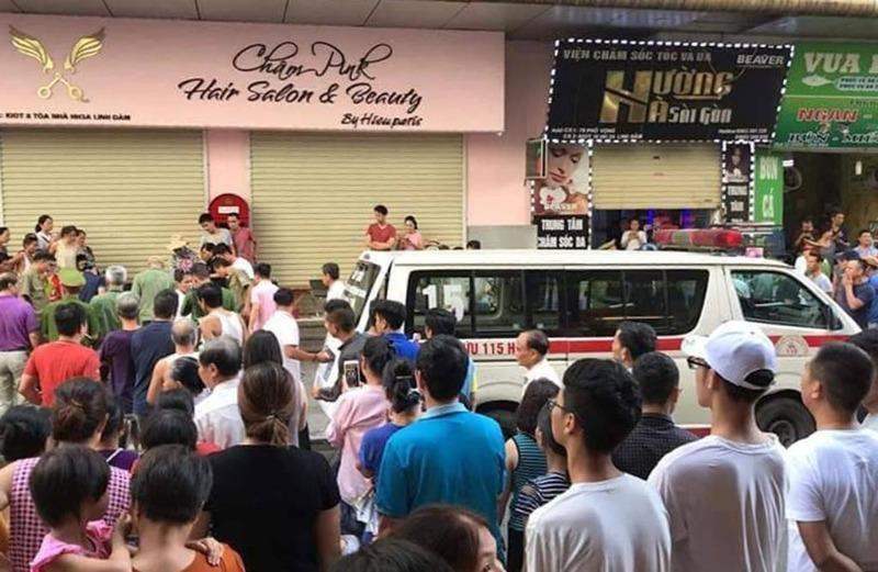 Vụ nổ ở khu đô thị HH Linh Đàm: Do thù tức cá nhân