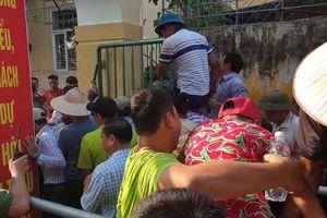 Hàng nghìn người chen lấn xô đẩy xem chọi trâu Đồ Sơn