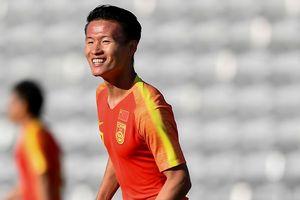 Tiền đạo số một của U22 Trung Quốc vắng mặt trong trận gặp Việt Nam