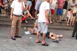 Nổ lớn ở chung cư Linh Đàm, 3 người bị thương