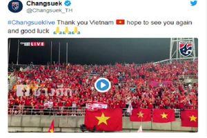 Điều gì khiến LĐBĐ Thái Lan công khai cảm ơn CĐV Việt Nam trên sân Thammasat?