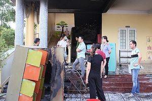 Cháy trường mầm non, hơn 100 học sinh được sơ tán kịp thời