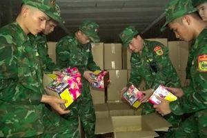 Lạng Sơn: Thu giữ gần 13 tấn pháo nổ