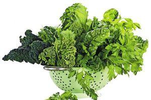 Rau lá xanh, thực phẩm bổ dưỡng