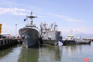 Đội tàu khu trục Hải quân Hàn Quốc chính thức thăm Đà Nẵng