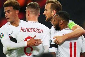 Vòng loạị EURO: Anh đè bẹp Bulgaria 4 bàn trong ngày các ông lớn toàn thắng