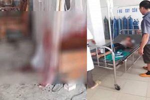 Bé trai 6 tuổi đang ngủ bị bác ruột xông vào tận giường chém phải nhập viện cấp cứu