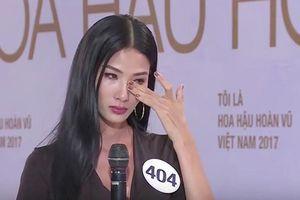 Tưởng mạnh mẽ lấn át đối thủ, Thúy Vân bất ngờ bật khóc ngay vòng phỏng vấn MUV 2019?