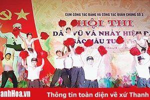Hội thi dân vũ và nhảy hiện đại 'Sắc màu tuổi trẻ'
