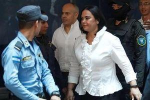 Biến công quỹ thành của riêng, cựu đệ nhất phu nhân Honduras nhận án 58 năm tù