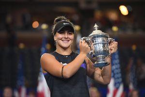 Tay vợt 19 tuổi hạ Serena để vô địch US Open ngay lần đầu tham dự