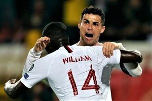 Ronaldo ghi bàn giúp Bồ Đào Nha giành chiến thắng 4-2