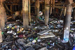 Rác thải bủa vây khu 'ổ chuột' ở phố biển Quy Nhơn