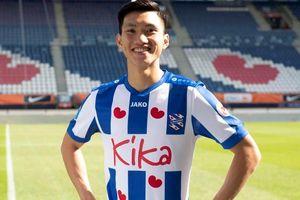 Heerenveen gửi áo đấu đầu tiên của Văn Hậu về Việt Nam