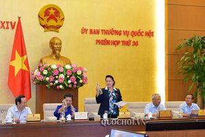 UBTVQH cho ý kiến về 13 dự án luật, bộ luật tại phiên họp thứ 37