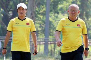 Thầy Park thân chinh 'xem giò' đối thủ Indonesia