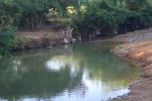 Đau lòng hai anh em ruột chết đuối ở hồ nước cạnh nhà