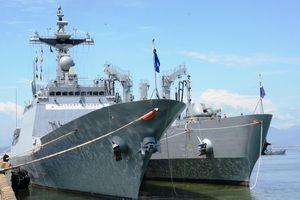 Hai chiến hạm Hàn Quốc cập cảng Đà Nẵng