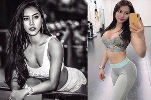 Thân hình nóng bỏng của cô gái 'Hot girl phòng gym'