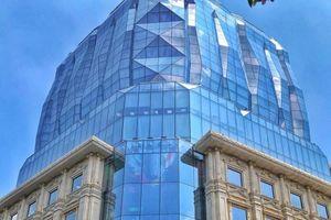 DOJI khánh thành tòa nhà kiến trúc tựa viên kim cương