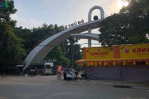 Chủ tịch Hà Nội chỉ đạo xử lý vi phạm tại Công viên Tuổi Trẻ