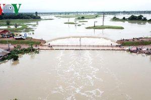 Lũ lụt nghiêm trọng tại Campuchia, làm 3 người thiệt mạng