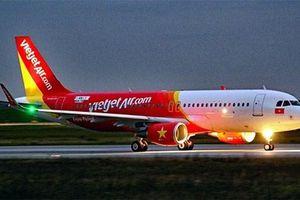 Ảnh hưởng bão Faxai, Vietjet thay đổi giờ khởi hành một số chuyến bay