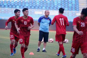 U22 Việt Nam tích cực tập luyện, quyết đánh bại U22 Trung Quốc