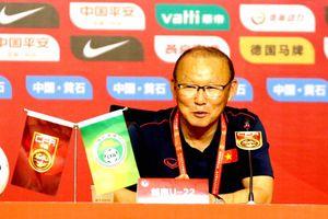 HLV Park Hang Seo: 'Thắng U22 Trung Quốc chưa nói lên điều gì đâu'