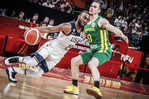 Đánh bại Brazil, Mỹ giúp Cộng hòa Czech tham dự vòng loại trực tiếp của FIBA World Cup