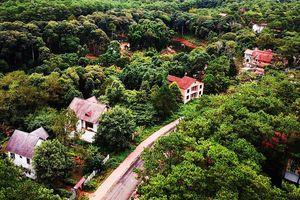 Rót tiền tỷ hồi sinh làng biệt thự Măng Đen
