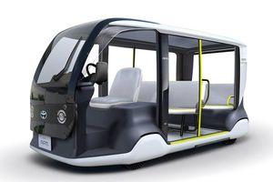 Xe tự hành sẽ chạy đầy đường dịp Olympics 2020 tại Nhật Bản