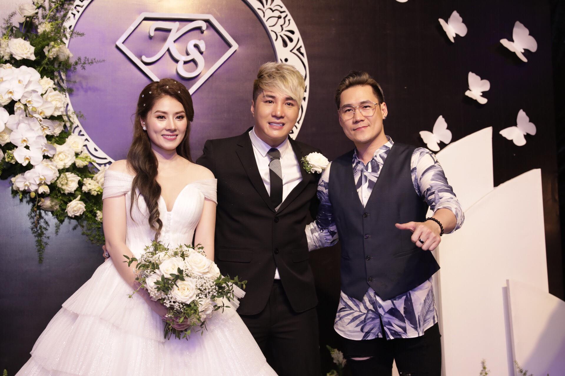 HKT, Khánh Phương dự lễ cưới ca sĩ Lâm Chấn Khang