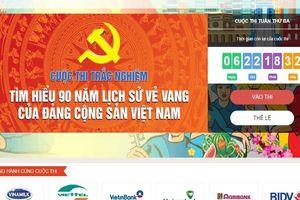 Hơn 40 nghìn lượt người tham gia thi tuần thứ hai Cuộc thi tìm hiểu lịch sử Đảng