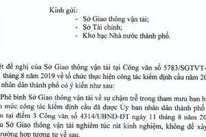 UBND TP HCM phê bình Sở GTVT