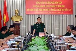 Đại tướng Ngô Xuân Lịch thăm, làm việc với Bệnh viện Quân y 175