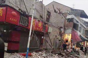 Động đất liên tiếp rung chuyển Trung Quốc