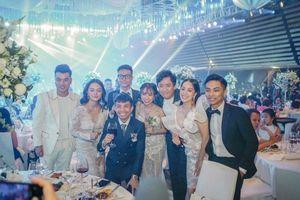 Dàn sao Việt 'đổ bộ' tham dự đám cưới 'ái nữ' đại gia Minh Nhựa