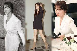 Song Hye Kyo tỏa sáng nhan sắc nữ thần tại Mỹ