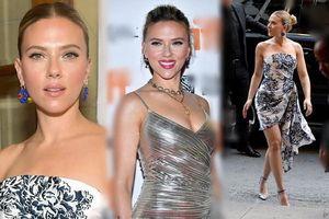 Mỹ nhân gợi tình Scarlett Johansson tươi như hoa, nóng bỏng tròn đầy