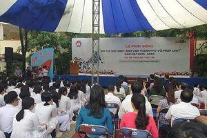 Sở Giáo dục thành phố Hồ Chí Minh phát động hội thi tìm hiểu pháp luật