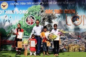 Trao giải 'Một hành động nhỏ với rác thải nhựa lớn'