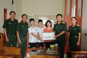 Các hoạt động thiện nguyện ở Nghệ An ngày 9/9